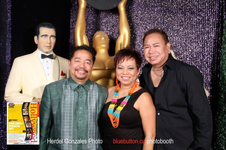 Ruben V. Nepales with wife Janet and friend Bernardo Bernardo. Get Inspired Filipino Excellence & Appreciation Night (Part 1) & On Spotlight Bernardo Bernardo - Simply the Best - The Luisa Marshall Show.