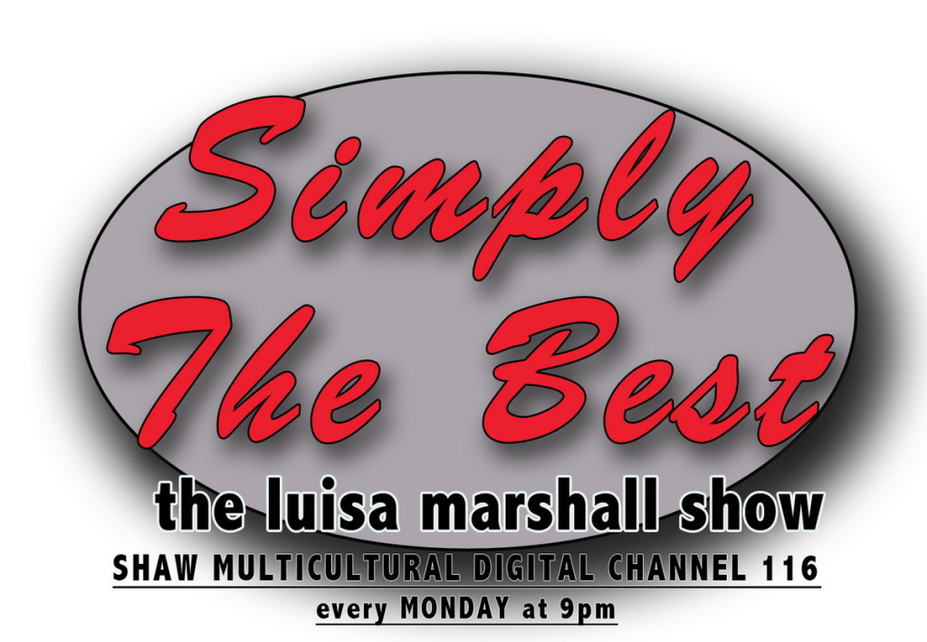 Simply the Best - The Luisa Marshall Show Logo