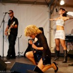 Luisa Marshall as Tina Turner on stage at the Harmony Arts Festival 2012. 4