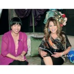 Simply the Best - The Luisa Marshall Show 2013 - Let's Talk with Narima Dela Cruz. Narima and Luisa Marshall share a laugh.