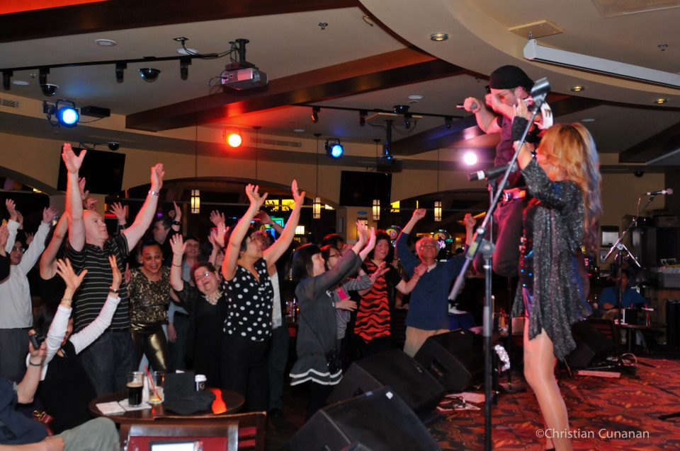 The Luisa Marshall Band at Lulu's Lounge at the River Rock Casino March 2013. Pictures by Christian Cunanan.