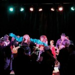 The Luisa Marshall Band at the Boulevard Casino Lions Den on October 2012. Disco Inferno.